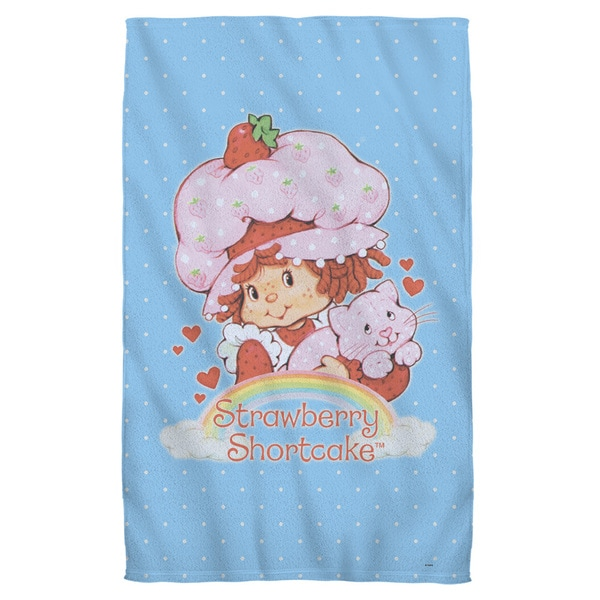 Strawberry Shortcake/Rainbow Beach Towel