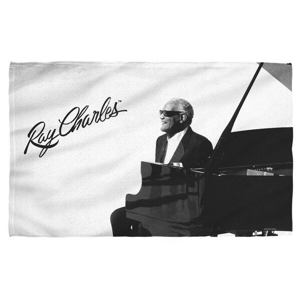 Ray Charles/Sunny Ray Beach Towel 19718022