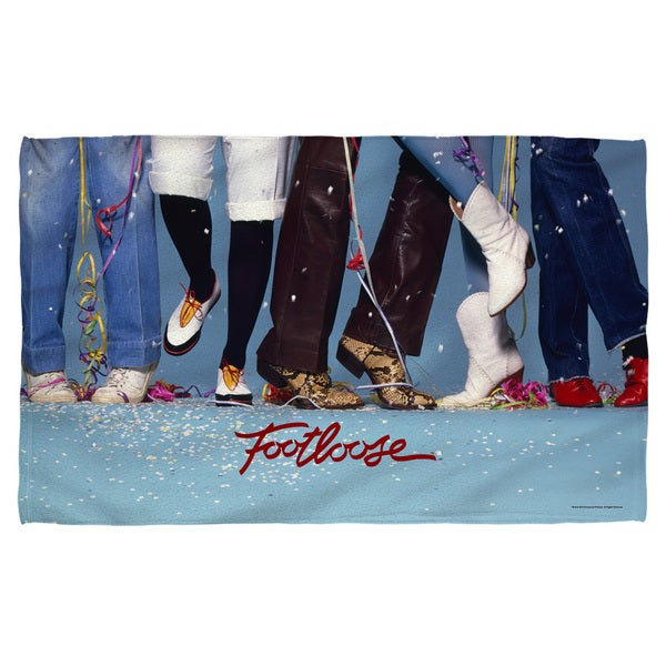 Footloose/Loose Feet Polyester Beach Towel