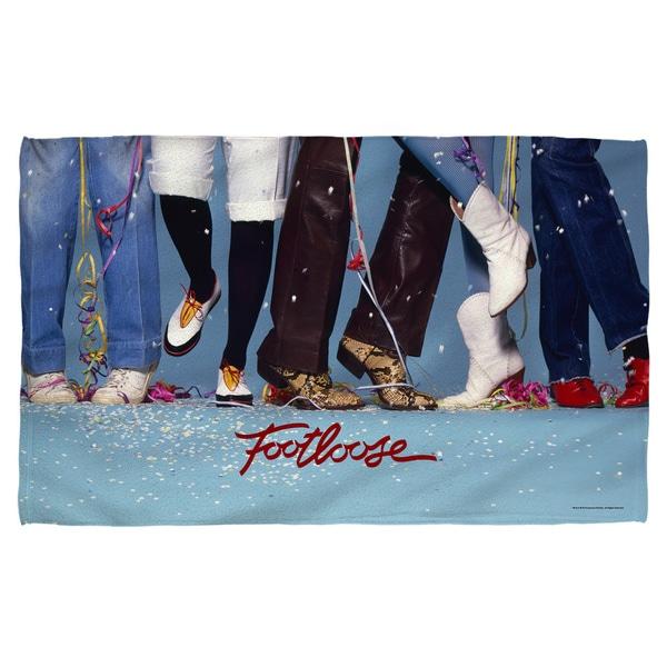 Footloose/Loose Feet Polyester Beach Towel