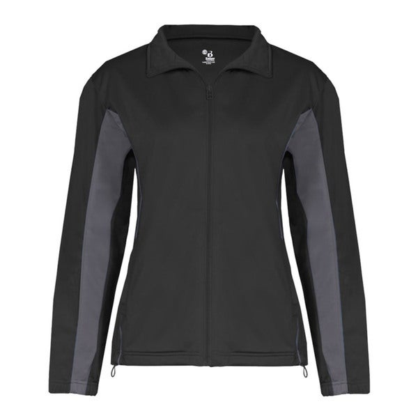 Brushed Tricot Women's Drive Black/ Graphite Jacket