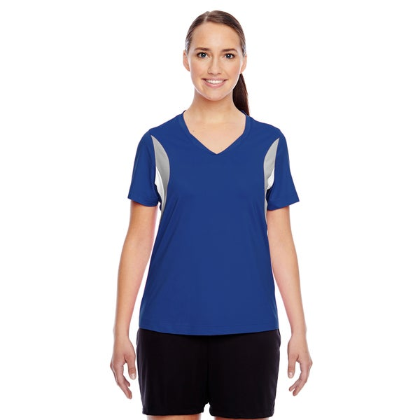 Short-sleeve Women's V-neck Sport Royal All Sport Jersey