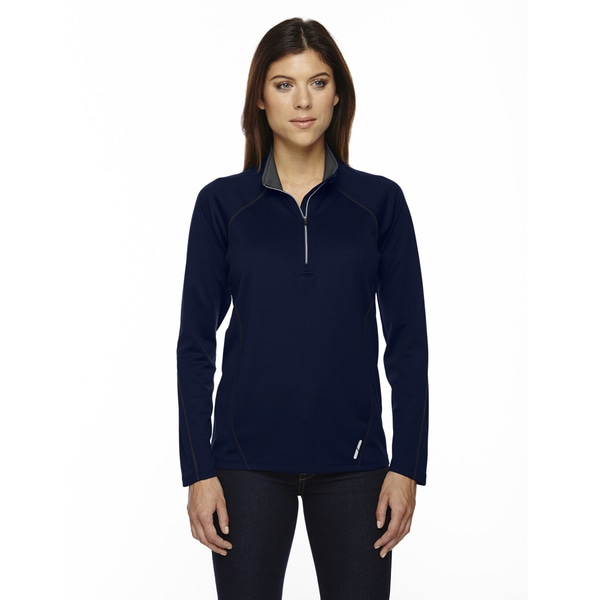Radar Women's Half-zip Classic Navy 849 Performance Long-sleeve Top