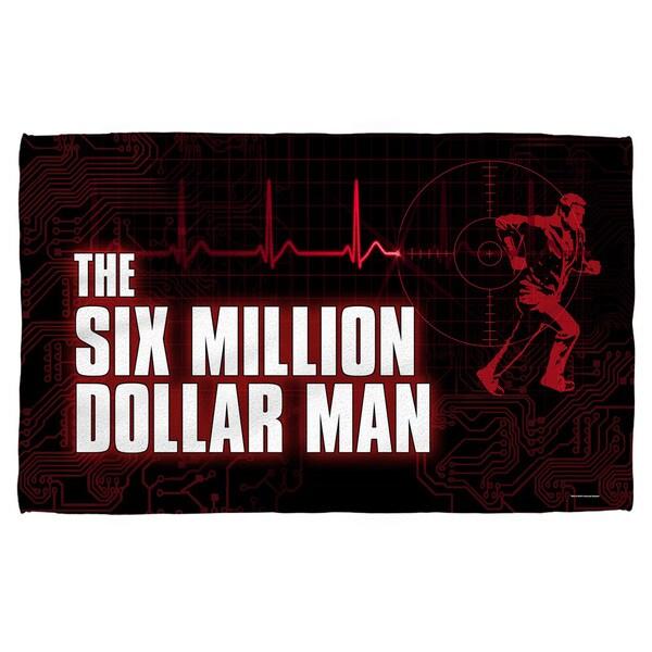 Six Million Dollar Man/Logo Beach Towel