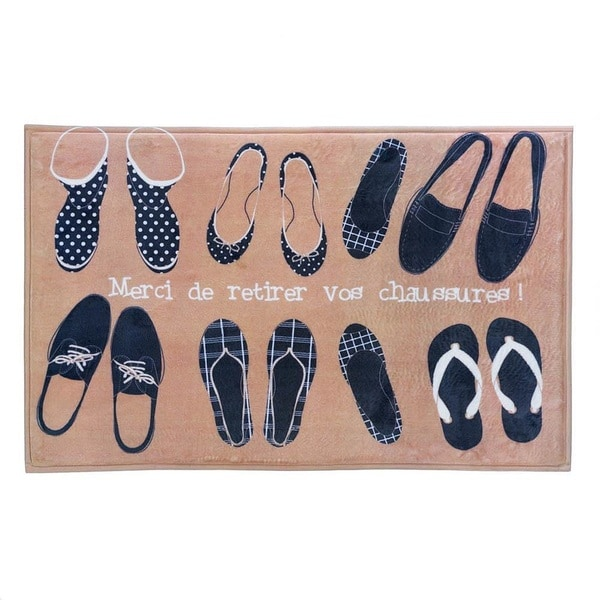 Friendly Shoe Display Floor Mat