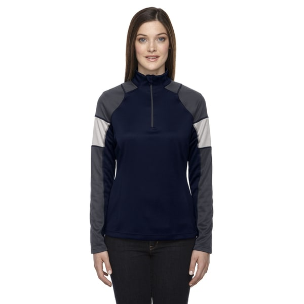 Quick Performance Women's Interlock Half-zip Top Classic Navy 849 Jacket