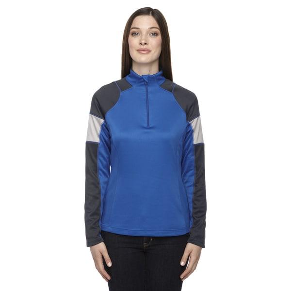 Quick Performance Women's Interlock Half-zip Top True Royal 438 Jacket