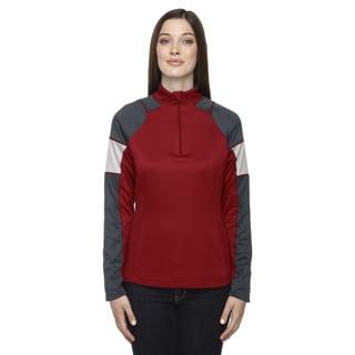 Quick Performance Women's Interlock Half-zip Top Classic Red 850 Jacket