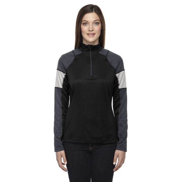 Quick Performance Women's Interlock Half-zip Top Black 703 Jacket 19718647