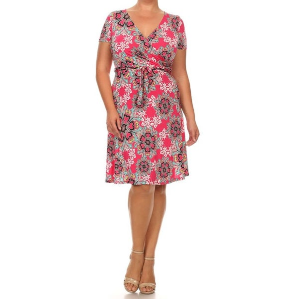 Women's Floral Paisley Dress