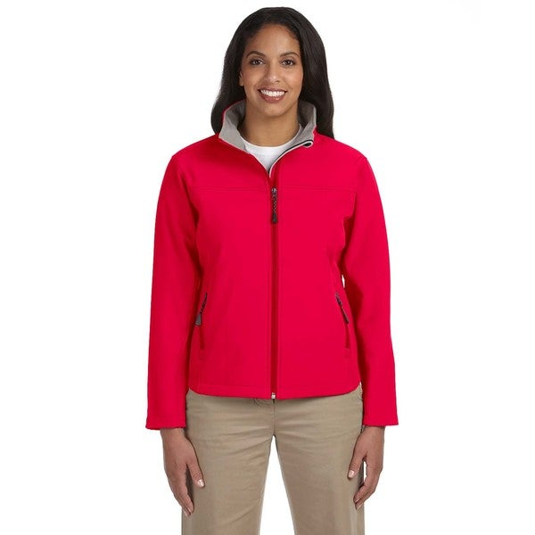 Soft Shell Women's Red Jacket