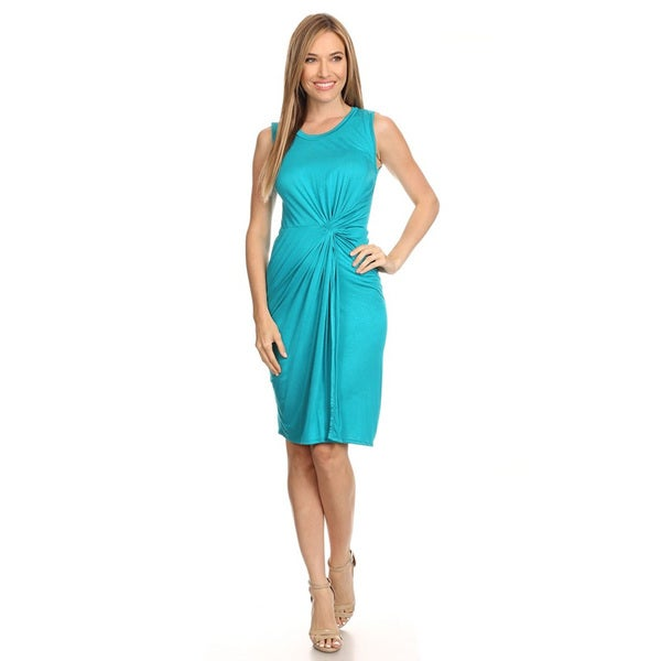 Women's Ruched Wrap Dress