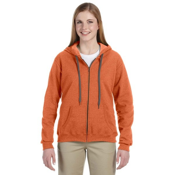 Heavy Blend Women's Vintage Classic Sunset Full-zip Hoodie