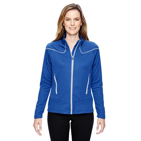 Interactive Women's Cadence Two-tone Brush Back Nautical Blu 413 Jacket