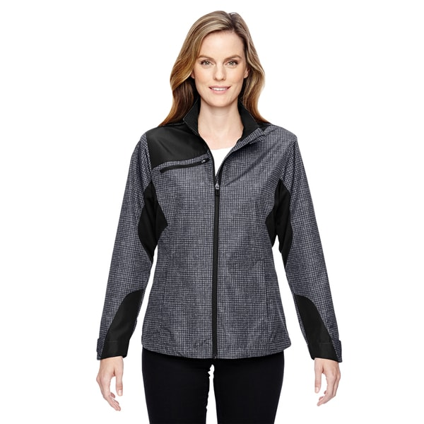 Interactive Women's Sprint Printed Lightweight Carbon 456 Jacket