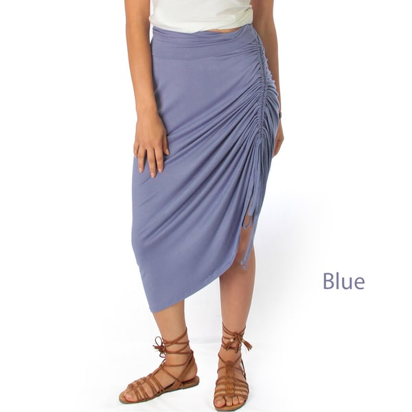 Tie That Knot Fold Over Maxi Skirt
