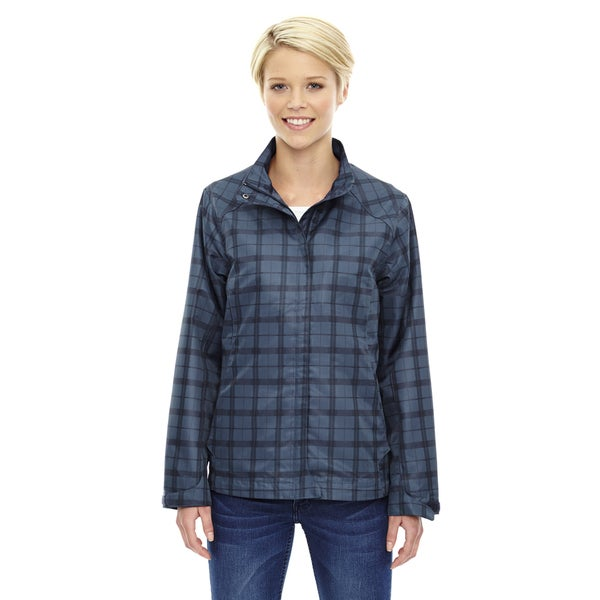 Locale Lightweight Women's City Plaid Night 846 Jacket