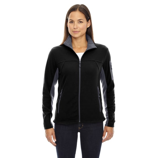 Micro-fleece Women's Fleece Black 703 Jacket