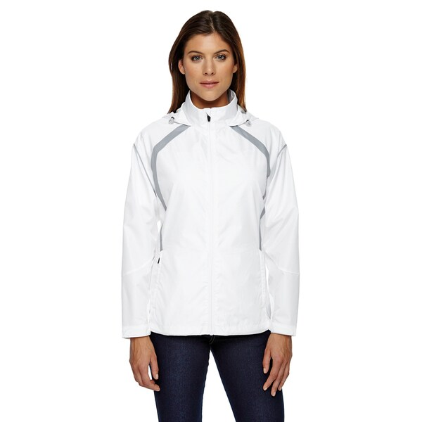 Sirius Women's Lightweight with Embossed Print White 701 Jacket 19720466