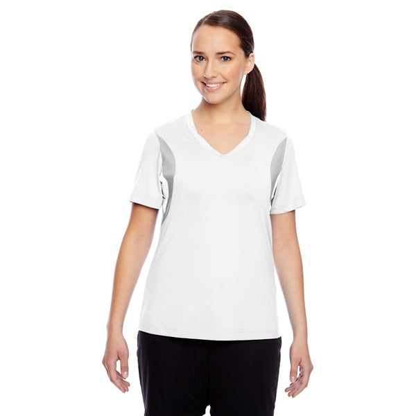 Short-sleeve Women's V-neck White All Sport Jersey 19720752