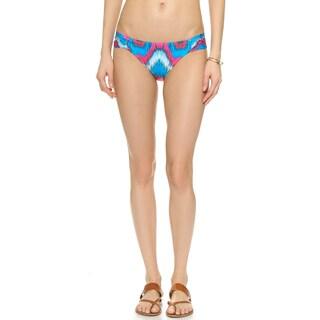 PilyQ Mumbai Multicolor Fanned Full Bikini Bottom