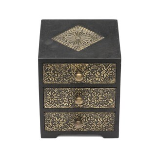 Golden Keepsake Box (India)