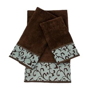 Sherry Kline Becall 3-piece Decorative Embellished Towel Set
