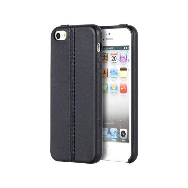 Apple iPhone 5/5S/Se Leather-look Finish Slim Jacket Tpu Case