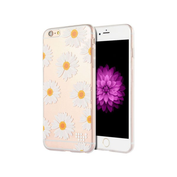 Whimsical Series Oh Daisy TPU Protective Cover for Apple iPhone 6/6S