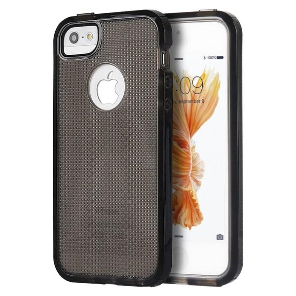 Iphone Se Contempo Cube Series Black Anti-Shock Tpu Case
