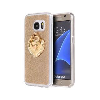 Samsung Galaxy S7 Golden Diamond TPU/Hard Aluminum Case
