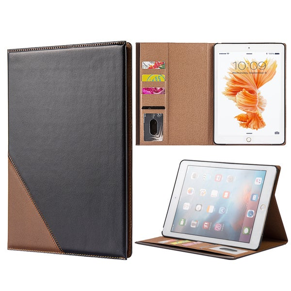 Apple iPad Pro 9.7-inch Business Platinum Leather Flip Case