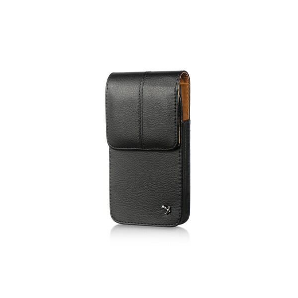 HTC M7 Black Vertical Pouch