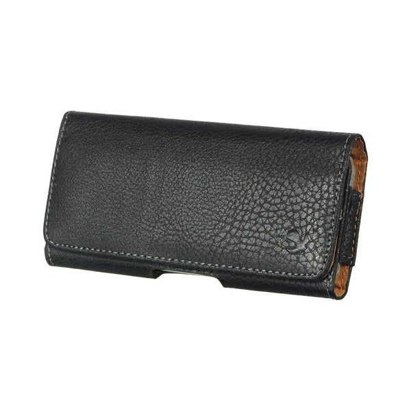 iPhone 5/5s Black Horizontal Pouch