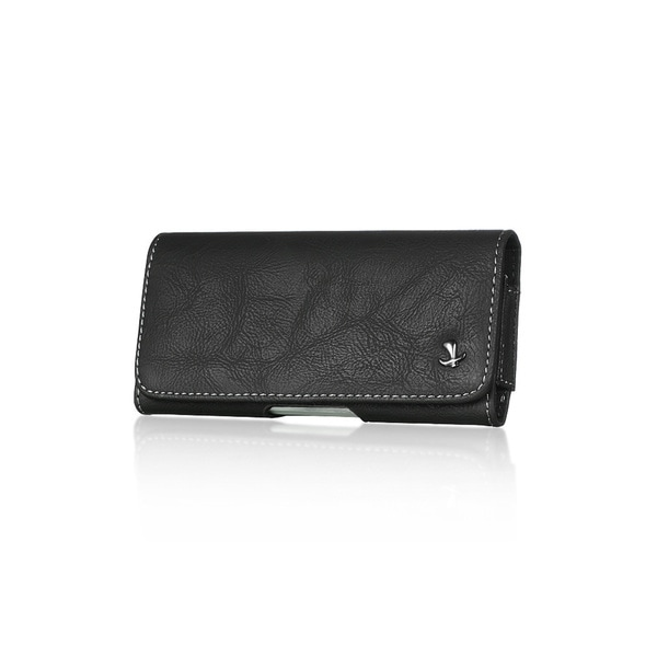 Iphone 5/ 5S Black Horizontal Pouch