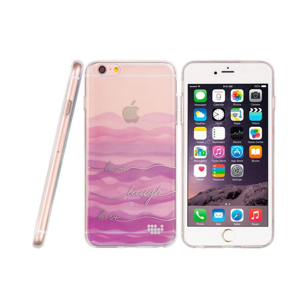 Apple Iphone 6 / 6S Plus TPU 'Live Laugh Love' Water Color Case