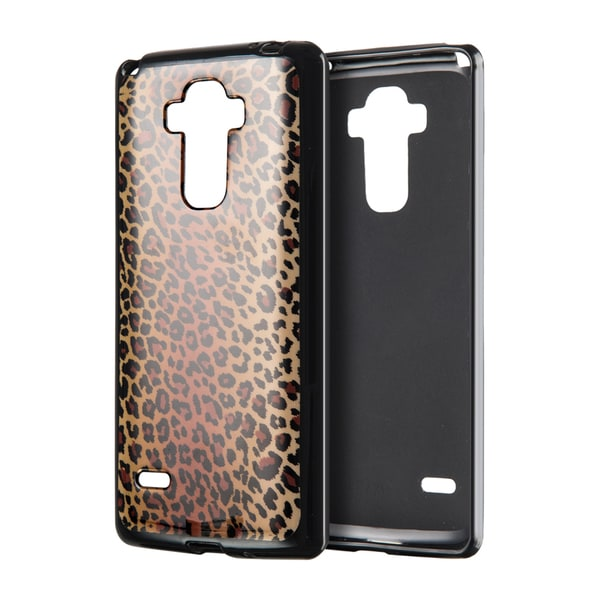 LG Stylo Ls770 Black Leopard TPU Case