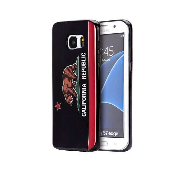 Samsung Galaxy S7 Edge Black California Case