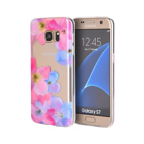 Samsung Galaxy S7 'Be Enchanted' TPU Watercolor IMD Phone Case 19726838