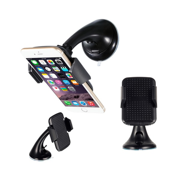 Universal Black Car Holder For GPS/Smartphones