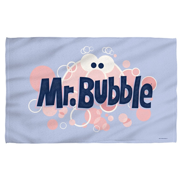 Mr Bubble/Eye Logo Bath Towel