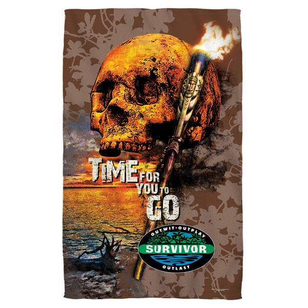 Survivor/Time To Go Bath Towel