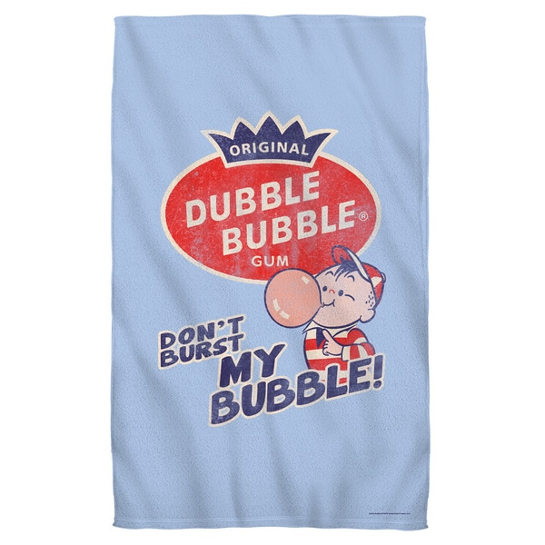 Dubble Bubble/Burst Bubble Bath Towel