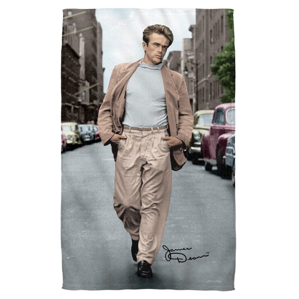 James Dean/Colorful Walk Bath Towel 19727639
