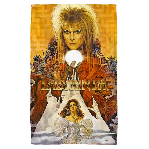 Labyrinth/Crystal Ball Bath Towel