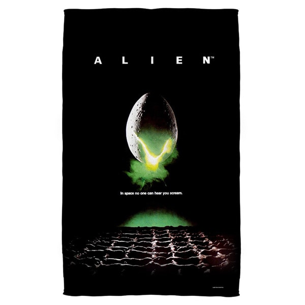 Alien/Poster Bath Towel