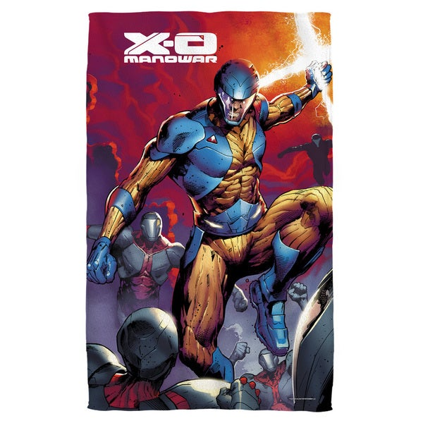 Xo Manowar/Sword Of Light Bath Towel