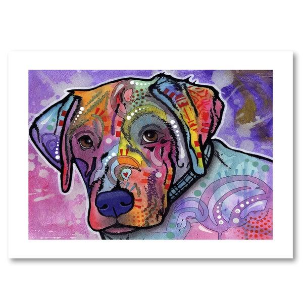 Dean Russo 'Petunia' Paper Art