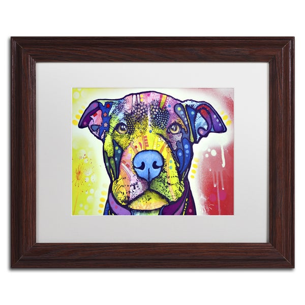 Dean Russo 'Love A Bull This Years Love 2013 Part 1' Matted Framed Art