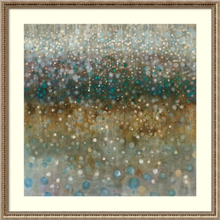 Framed Art Print 'Abstract Rain' by Danhui Nai 34 x 34-inch